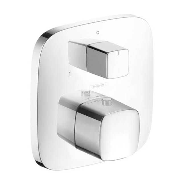 Hansgrohe Canada HG Puravida Trim, Thermostat With Shut Off Valve/Diverter