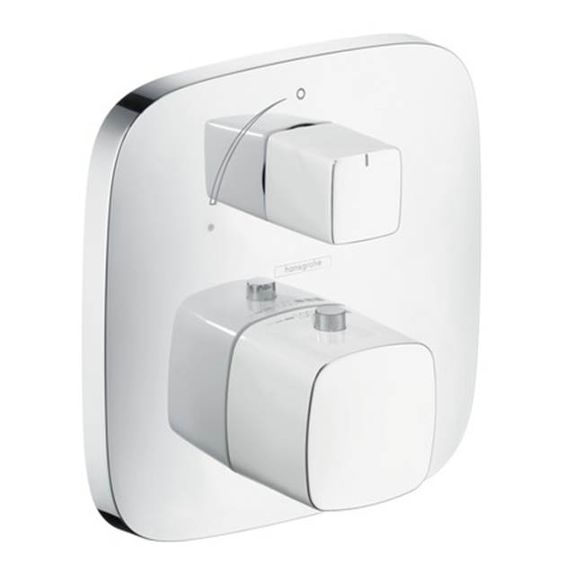 Hansgrohe Canada Puravida Thermostat With Volume Control Trim