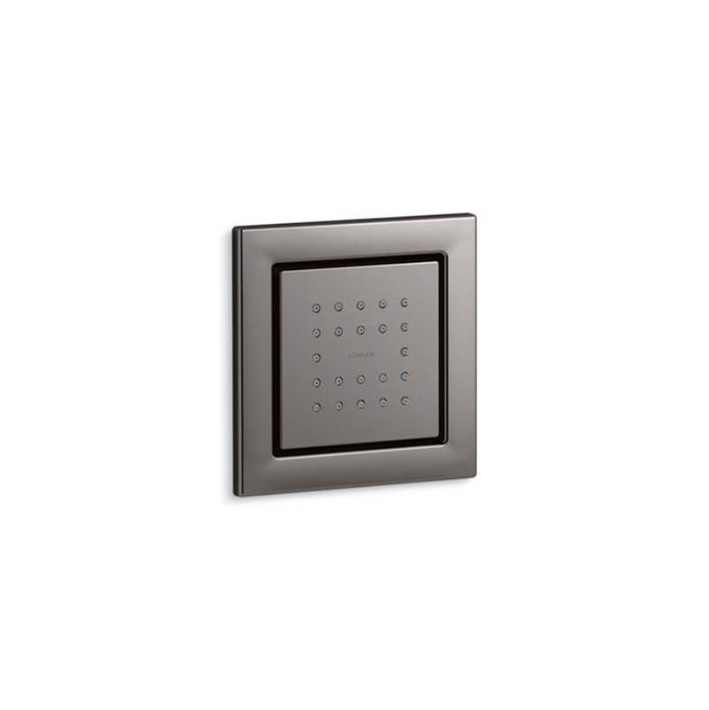 Kohler WaterTile® Square 22-nozzle body spray with stimulating spray
