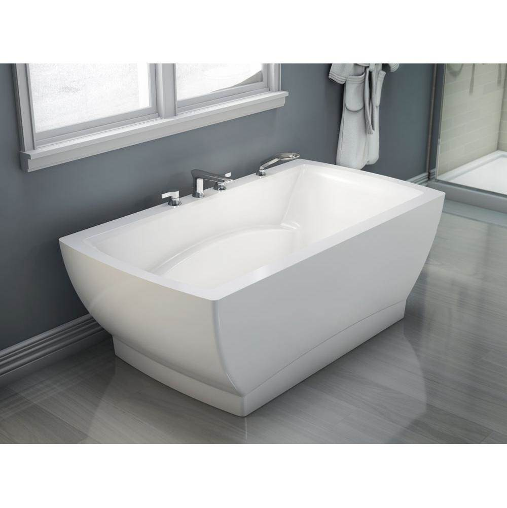 Produits Neptune Freestanding BELIEVE Bathtub 36x72, Mass-Air, White with Color Skirt - BE3672FM 2CLR
