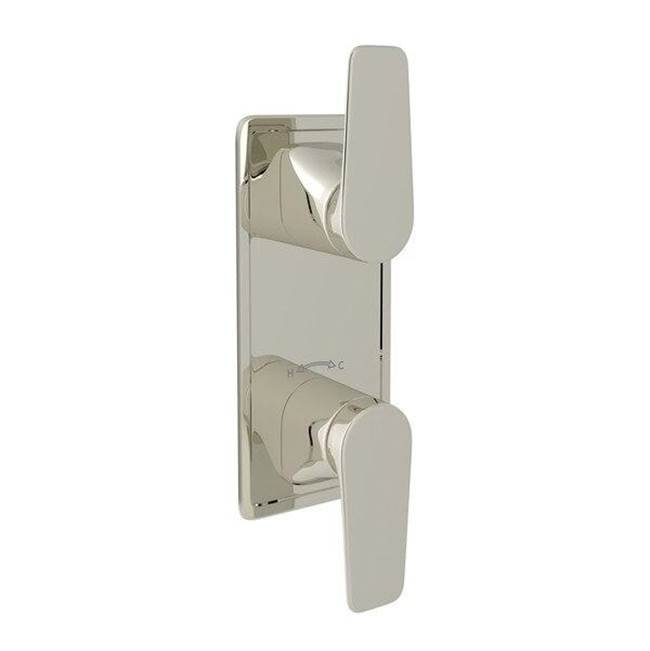 Thermostatic Valve Trims With Diverter