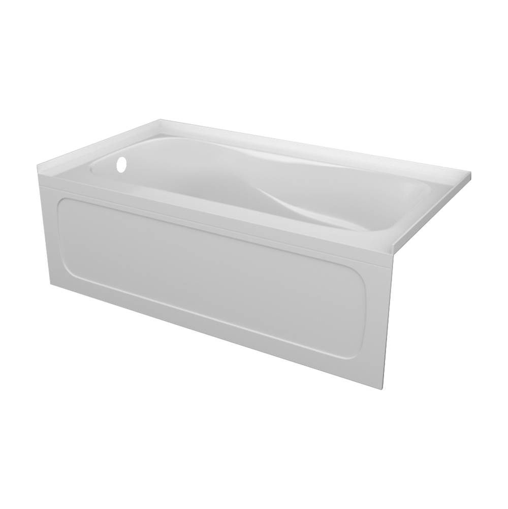 Valley Acrylic PRO tub 20'' skirt with pattern /armrests