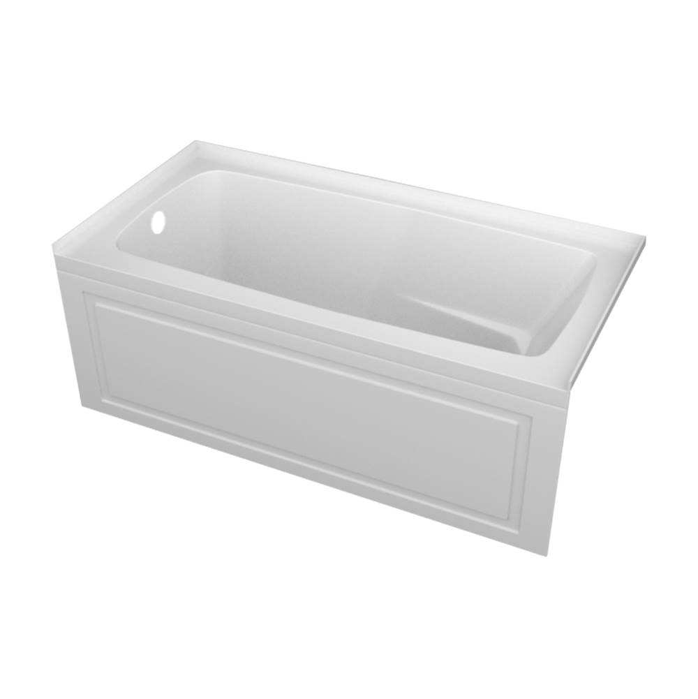 Valley Acrylic STARK tub 22'' skirt with pattern /armrests